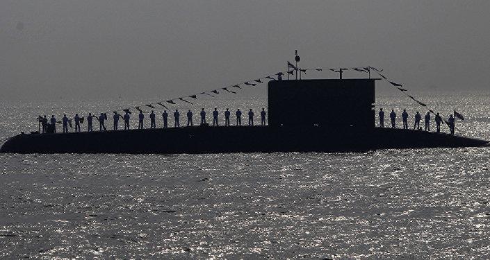 Oficiais da Marinha indiana
