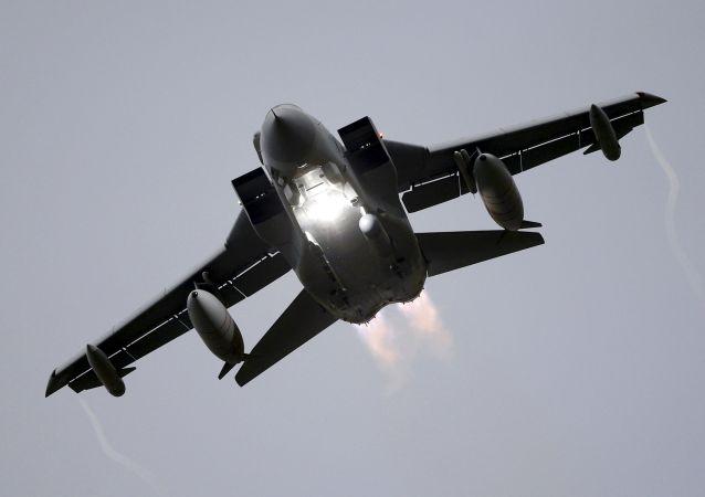 Caça Tornado da Força Aérea britânica