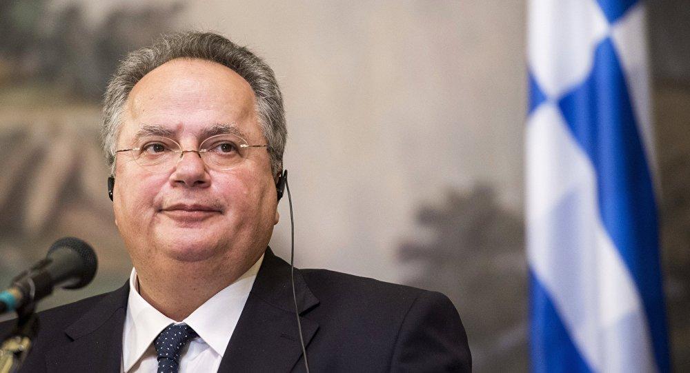 Chanceler grego, Nikos Kotzias