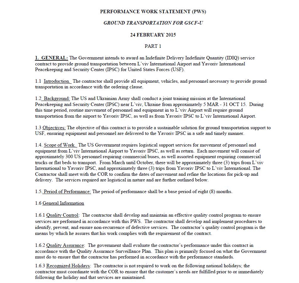 Página do documento publicado no site dos contratos públicos