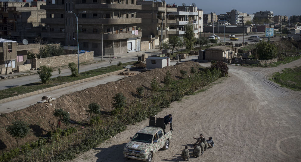 Cidade de Qamishli, na Síria
