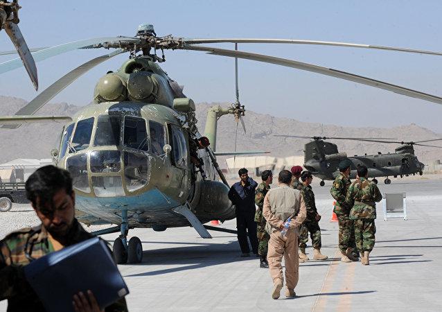 Base aérea de Candaar no Afeganistão