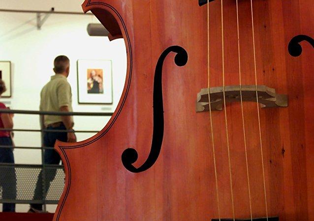 Um violoncelo