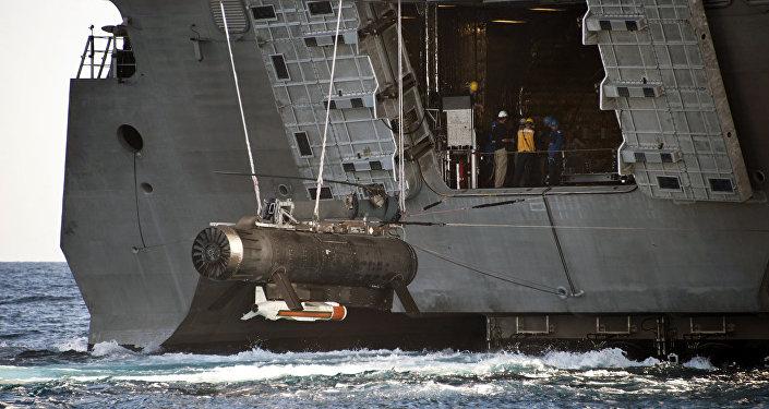 Drones não tripulados subaquáticos dos EUA