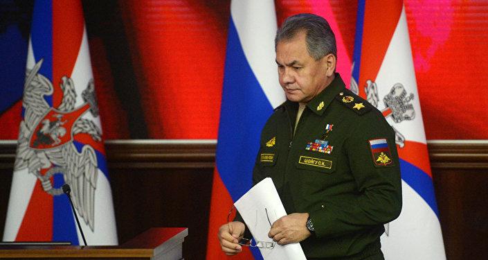 Ministro da Defesa da Rússia, Sergei Shoigu