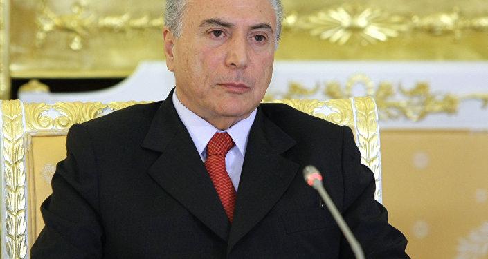 Michel Temer (foto de arquivo)