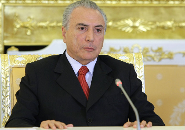 Michel Temer, vice-presidente do Brasil