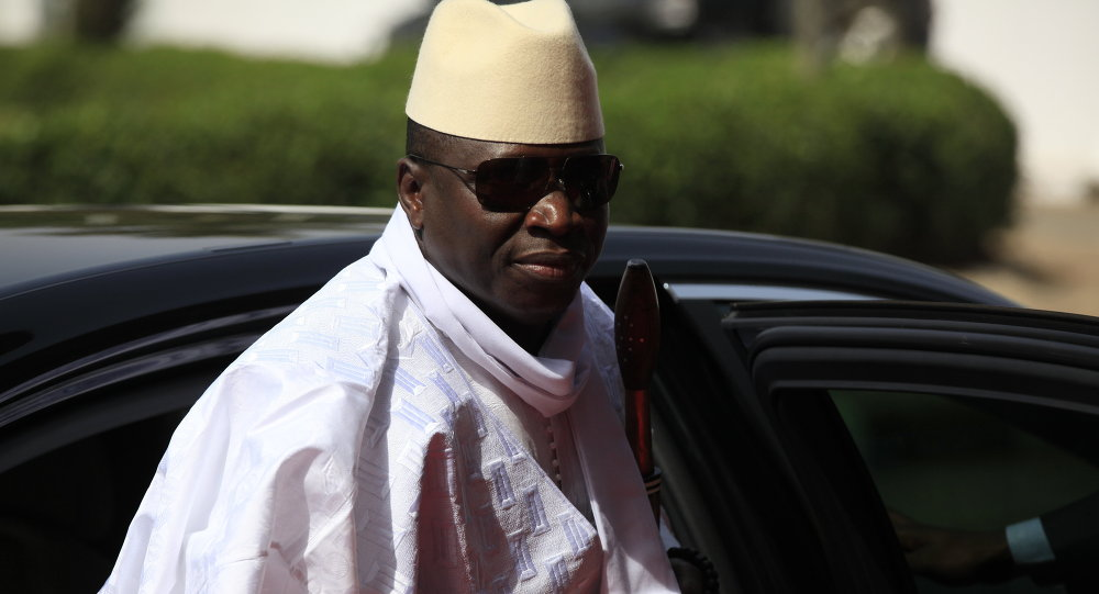Presidente da Gâmbia Yahya Jammeh
