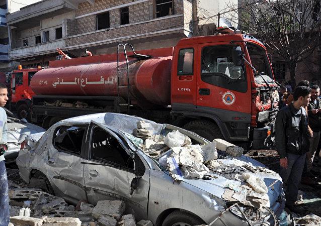 Atentado em Homs.