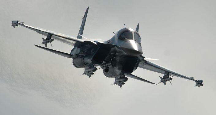 Caça russo Sukhoi Su-34