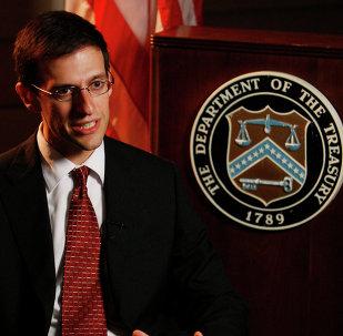 Adam Szubin, diretor do Escritório do Departamento do Tesouro para Controle de Bens no Estrangeiro, entrevistado pela Associated Press