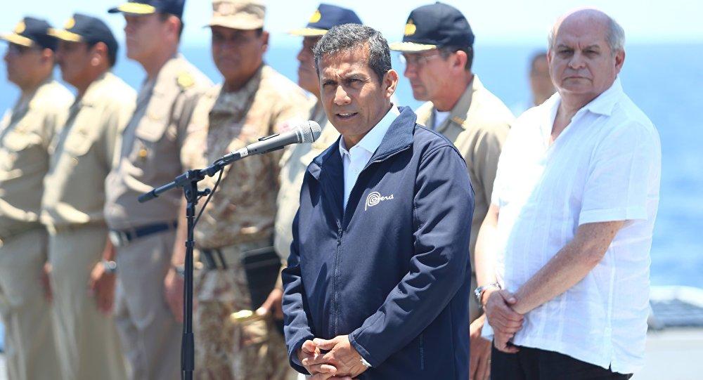 Presidente do Peru, Ollanta Humala