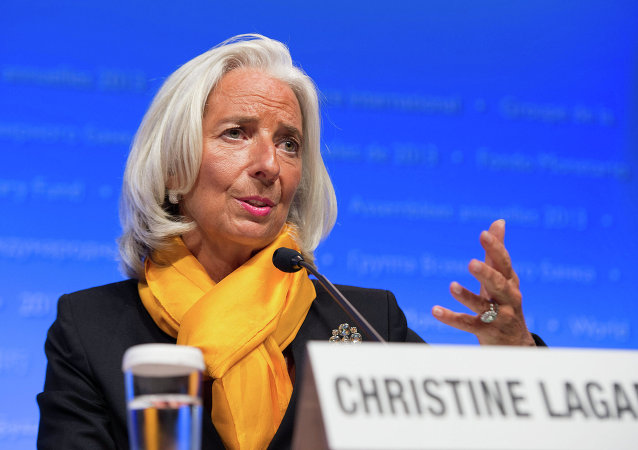 Diretora-gerente do FMI, Christine Lagarde