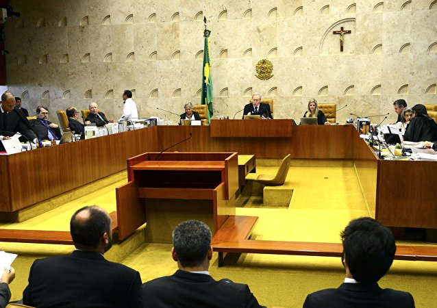 Sessão do Supremo Tribunal Federal (STF)