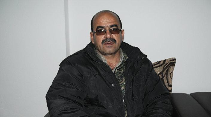 Huseyin Kocer, comandante de um destacamento da YPG