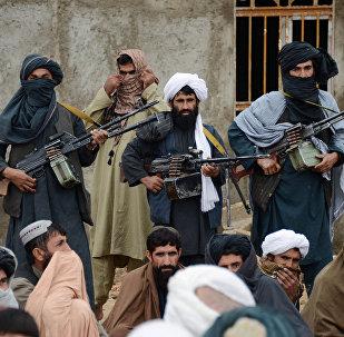 Militantes do Taliban no Afeganistão (foto de arquivo)