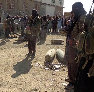 Militantes do Talibã no Afeganistão, 13 de outubro de 2015