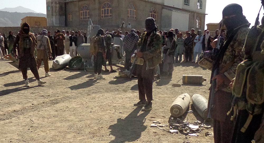 Militantes do Talibã no Afeganistão, em 13 de outubro de 2015