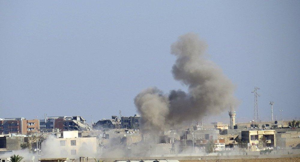 Consequências do ataque aéreo da coalizão internacional