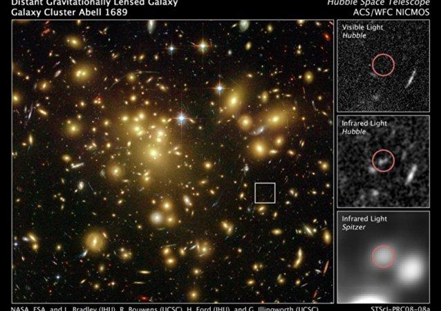 Galáxia A1689-zD1