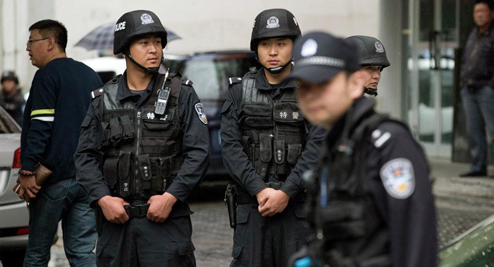 Polícia chinesa