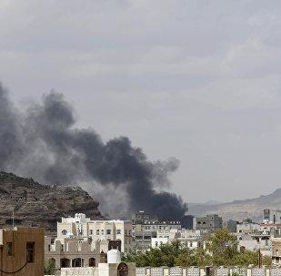As sequências de ataque aéreo saudita no Iêmen