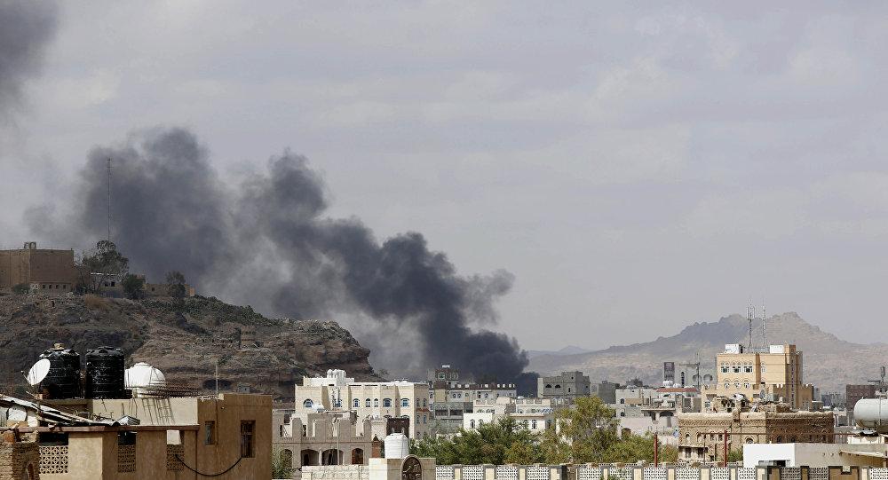 As sequências de ataque aéreo saudita no Iêmen (foto de arquivo)