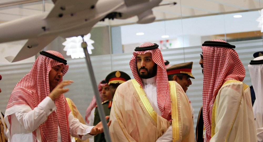 O príncipe herdeiro e ministro da Defesa da Arábia Saudita Mohammad bin Salman