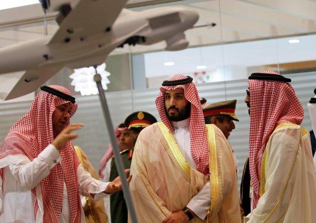 O vice-príncipe herdeiro e ministro da Defesa da Arábia Saudita Mohammad bin Salman