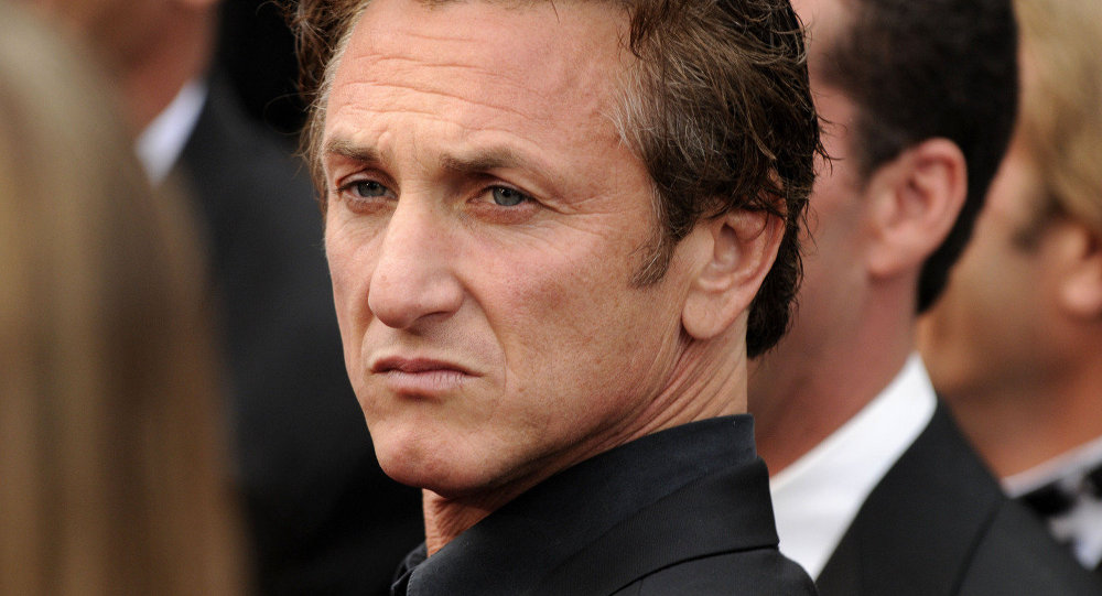 Actor Sean Penn