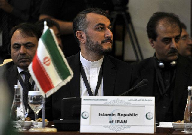 Hossein Amir-Abdollahian, vice-ministro das Relações Exteriores do Irã