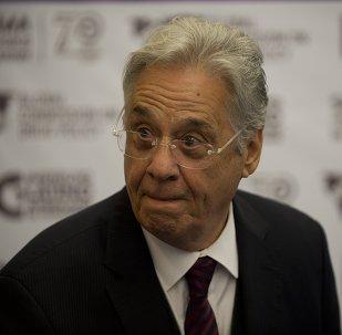 Ex-presidente do Brasil, Fernando Henrique Cardozo