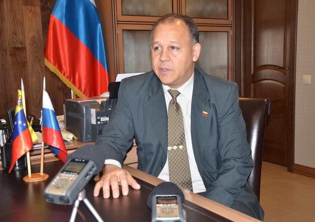 Juan Vicente Paredes Torrealba, embaixador da Venezuela na Rússia