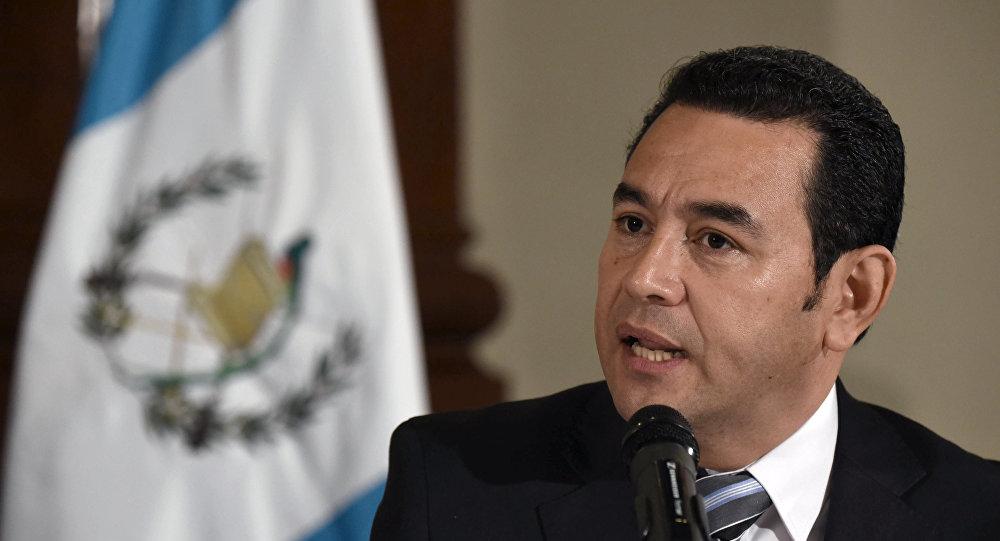 Jimmy Morales, presidente da Guatemala