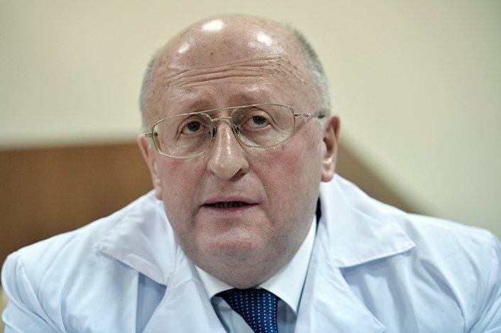Diretor do Instituto Gamaleya, Aleksandr Gintsburg, falou com jornalistas após a apresentação da vacina, nesta sexta-feira (15)
