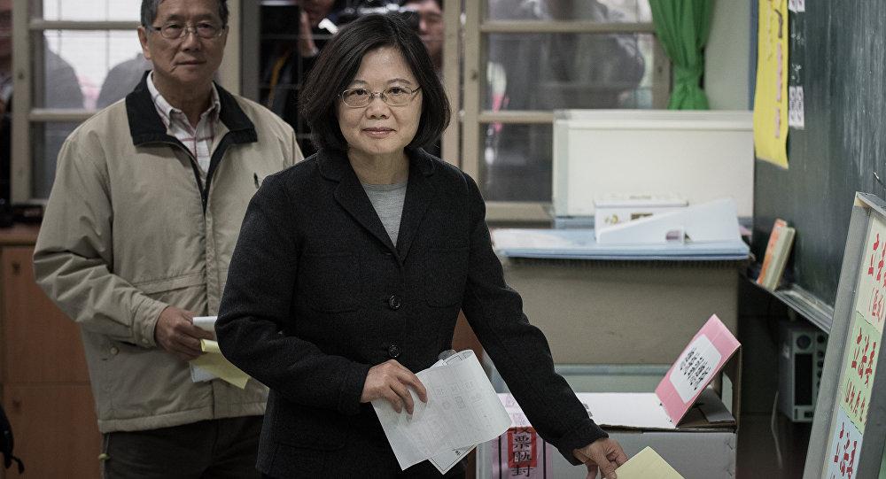 Tsai Ing-wen, novo presidente de Taiwan