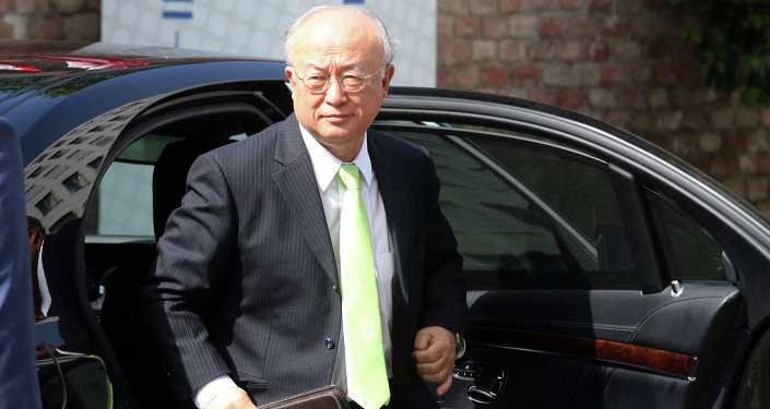Yukiya Amano, diretor geral da IAEA, Agência Internacional de Energia Atômica