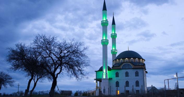 Mesquita do vilarejo de Levadki, próximo à cidade de Simferopol, na Crimeia