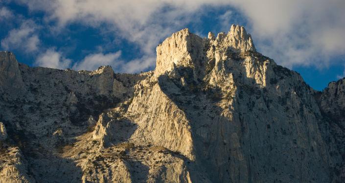 Monte Ai-Petri, região de Yalta, Crimeia