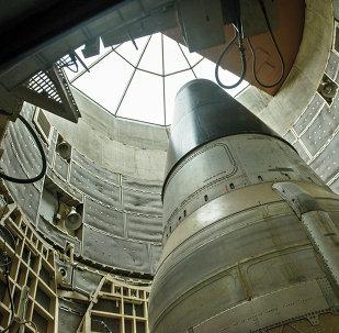 Um míssil nuclear ICBM Titan II desativado é visto em um silo no Missile Museum Titan (imagem referencial)