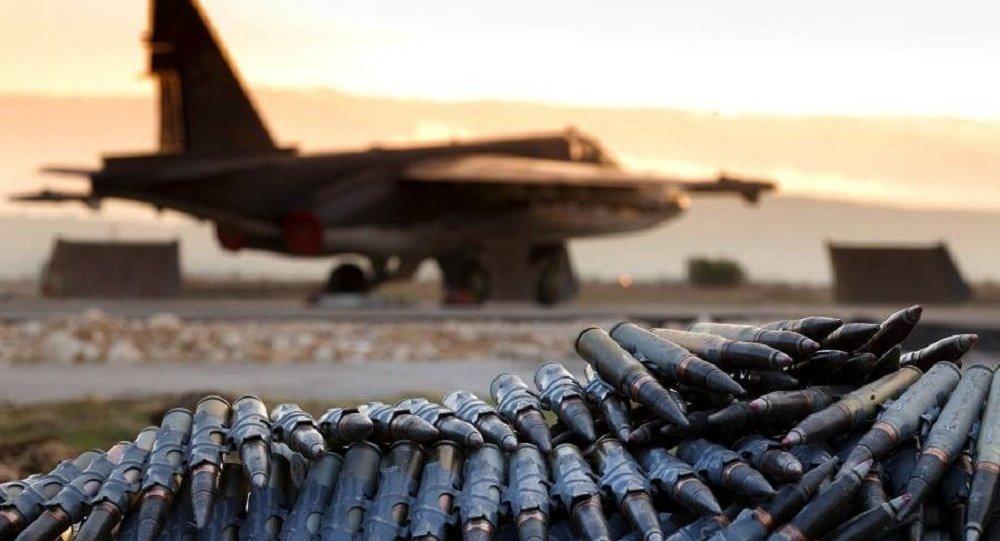 Dia-a-dia na Base Aérea da Rússia na Síria (foto de arquivo)