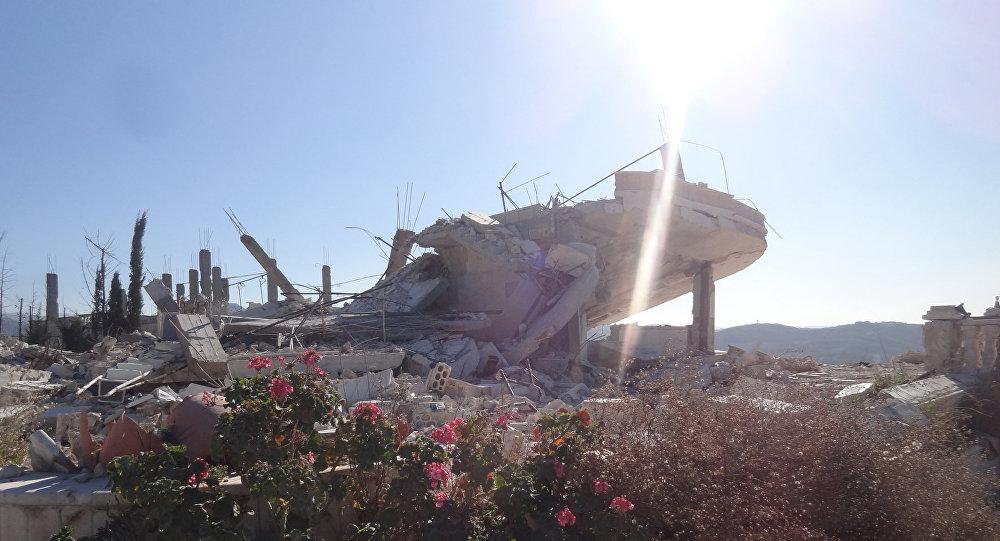 A cidade de Salma foi libertada do Daesh em meados de janeiro de 2016