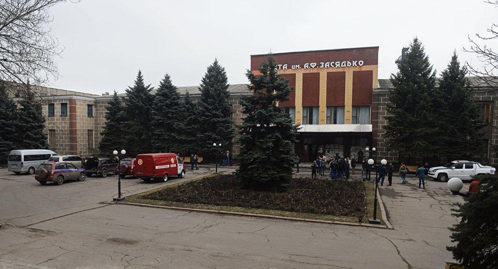 Explosão na mina Zasyadko em Donetsk