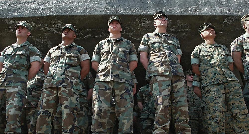 Instrutores do exército norte-americano