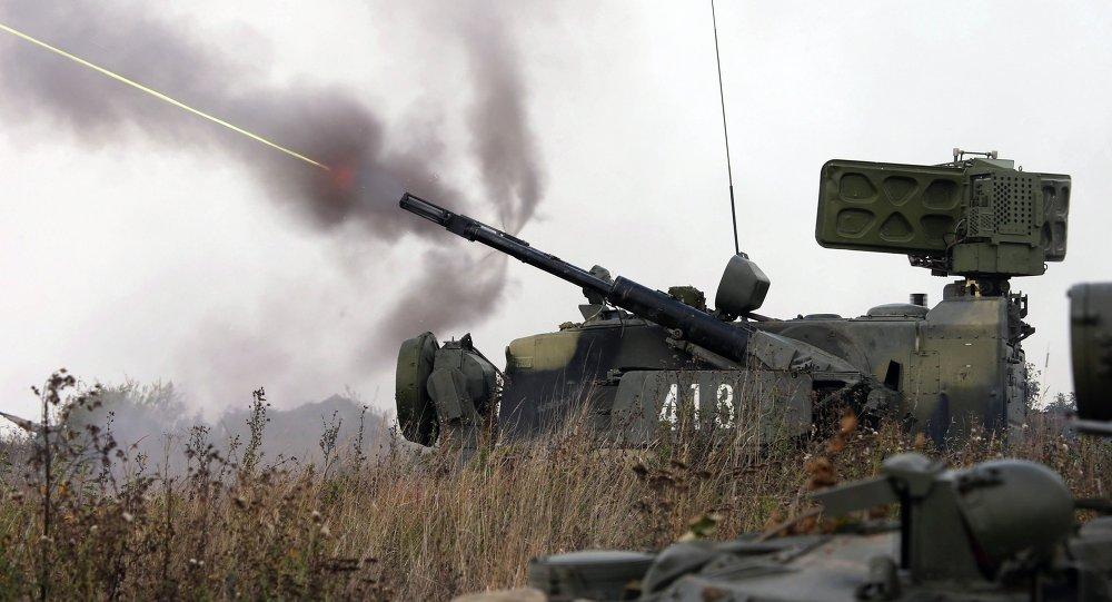 Exercícios militares na região de Kaliningrado