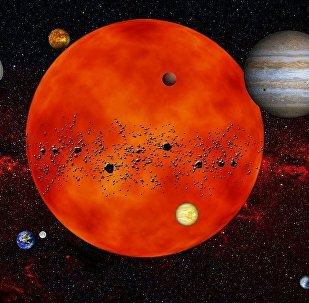 Sistema Solar (imagem ilustrativa)