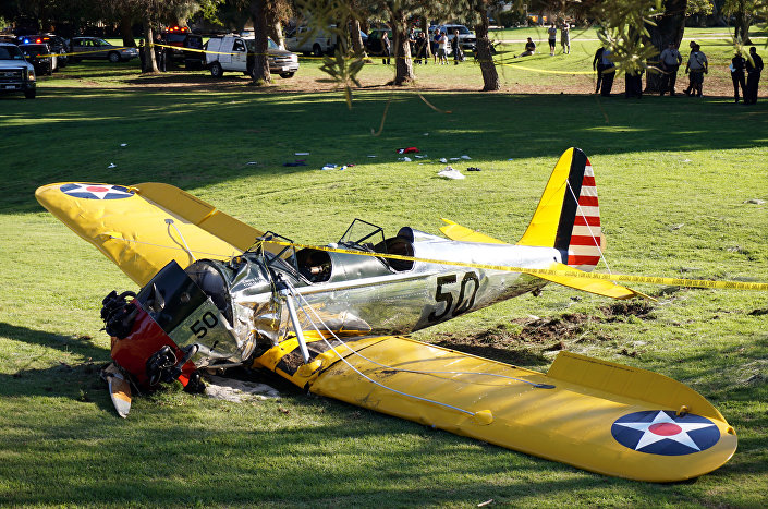 PT-22 Recruit do ator Harrison Ford