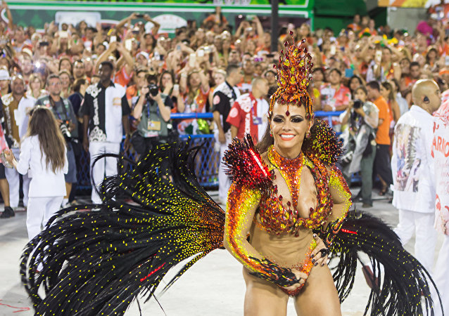 Desfile do Salgueiro no Carnaval 2015