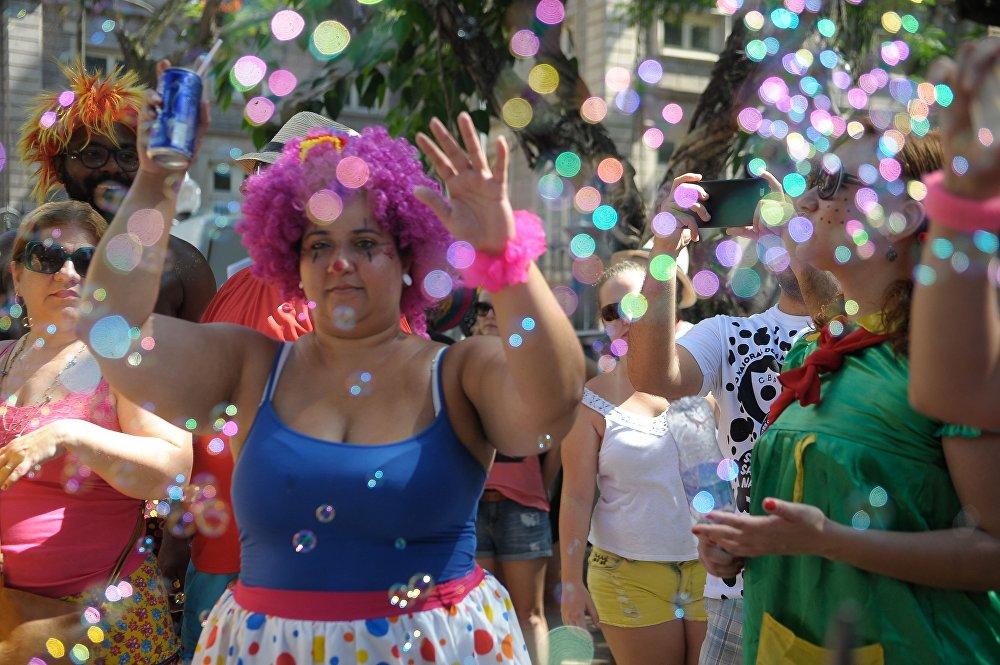Carnaval infantil no Rio de Janeiro