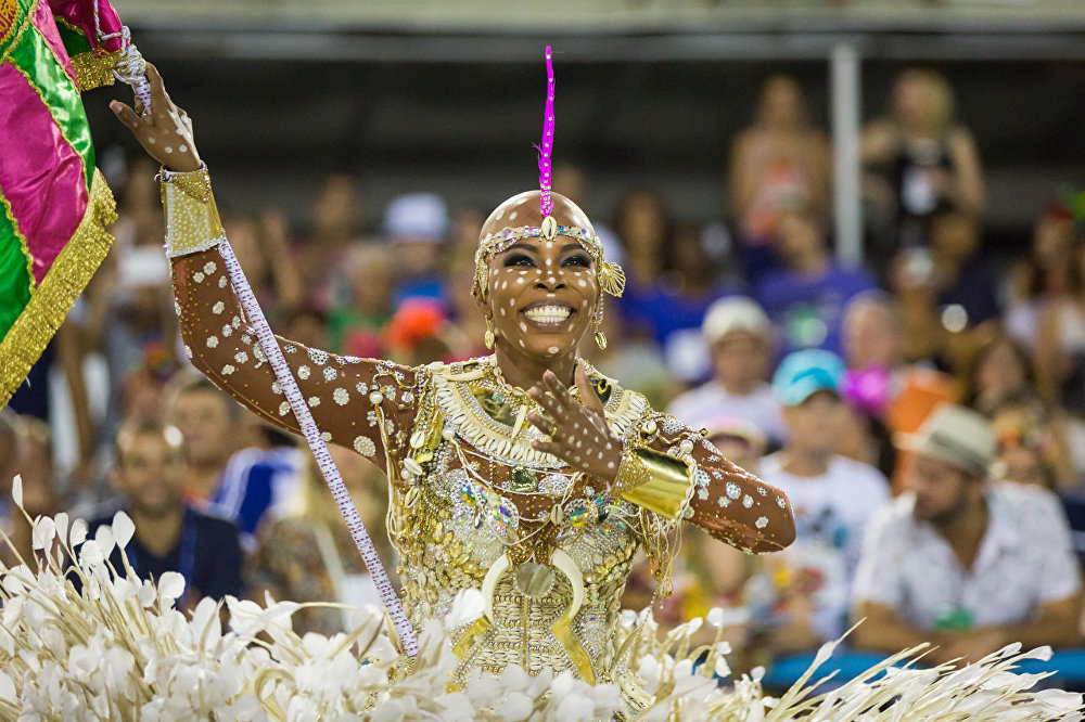 Desfile da Mangueira no Carnaval 2016
